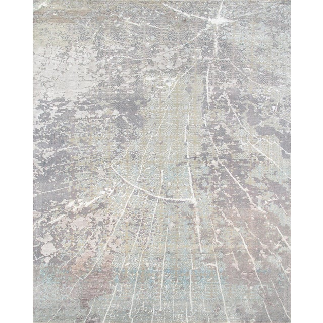 Image of Pasargad Transitional Silk/Wool Rug - 8' x 10' 2""