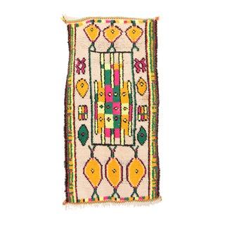 "Vintage Azilal Moroccan Rug - 1'11"" x 3'10"""