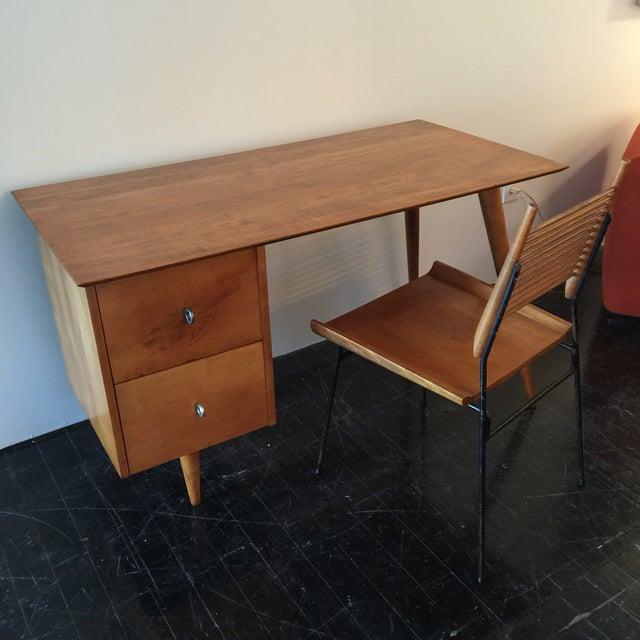 Paul McCobb for Planner Group Maple Desk & Chair - Image 2 of 11