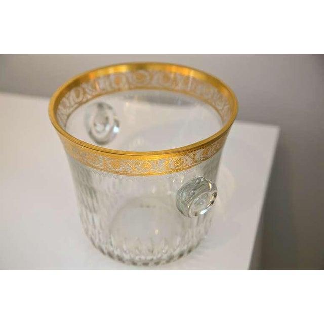 Saint-Louis Thistle Crystal Ice Bucket - Image 5 of 6