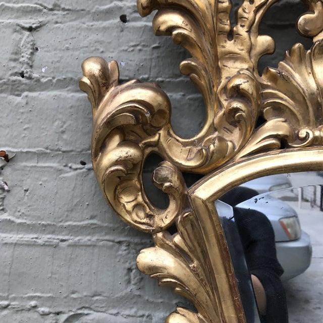 Italian Gilt Wood Mirror - Image 4 of 7