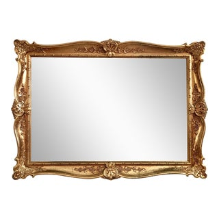 Louis XVI French Gilt Mirror