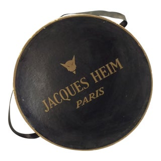 Jacques Heim Paris French Haute Couture Hat Box