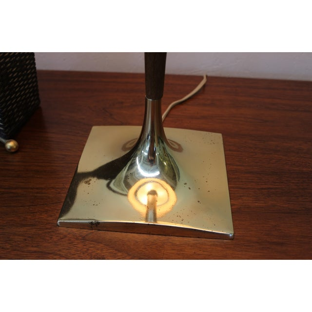 Mid-Century Modern Laurel Wishbone Lamp - Image 3 of 9
