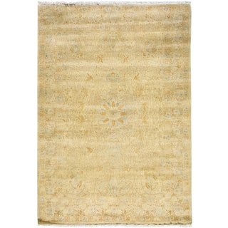 "Traditional Hand Knotted Area Rug - 5'2"" X 7'5"""