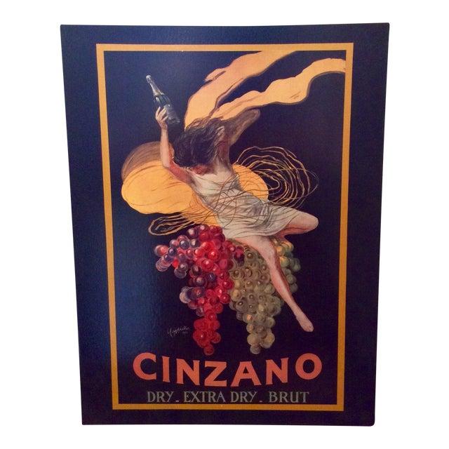 """Leonetto Cappiello """"Cinzano"""" """" Art Print on Canvas - Image 1 of 3"""