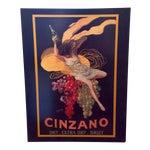 """Image of Leonetto Cappiello """"Cinzano"""" """" Art Print on Canvas"""