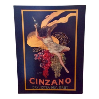 "Leonetto Cappiello ""Cinzano"" "" Art Print on Canvas"