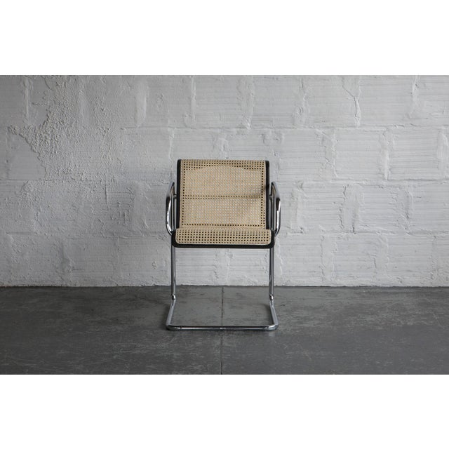 Marcel Breuer Style Armchair | Chairish