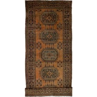 """Melis Handmade Vintage Turkish Rug - 4'8"""" x 11'10"""""""
