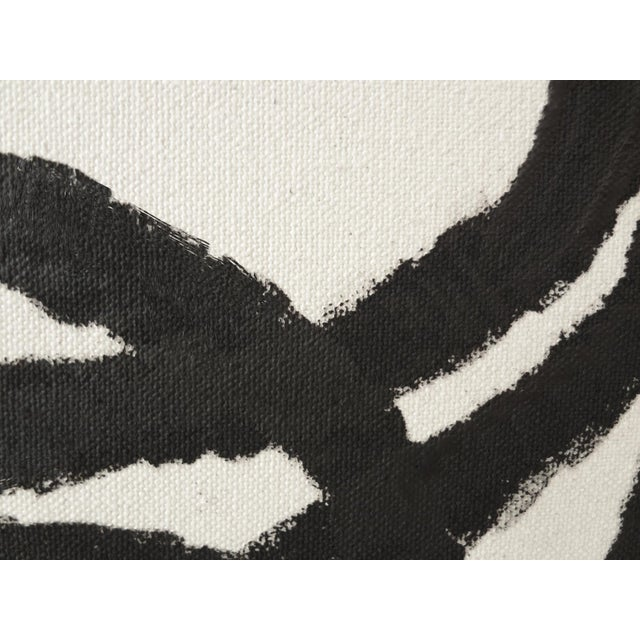 """Abstract Squiggle No. 2 Original Painting - 40"""" x 50"""" - Image 5 of 5"""