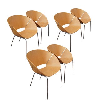 Wolfgang C.R. Mezger Lipse Chairs - Set of 6