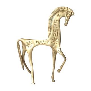 Frederick Weinberg Gilt Trojan Horse Sculpture