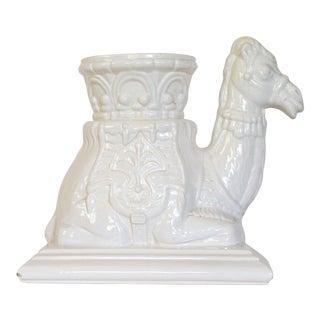 Royal Haeger Camel Garden Stool