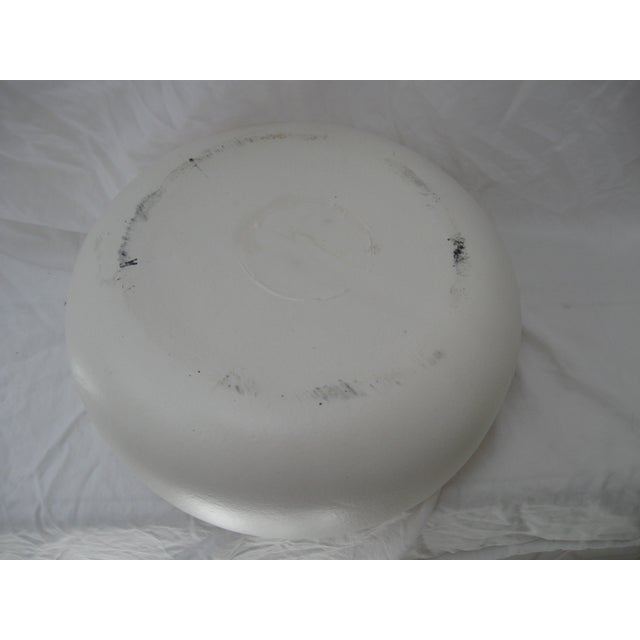 White Mid-Century Planter Bowl - Image 7 of 7