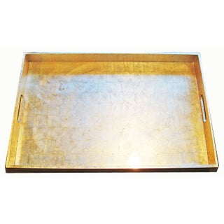 X-Large Silvery Gold Tray
