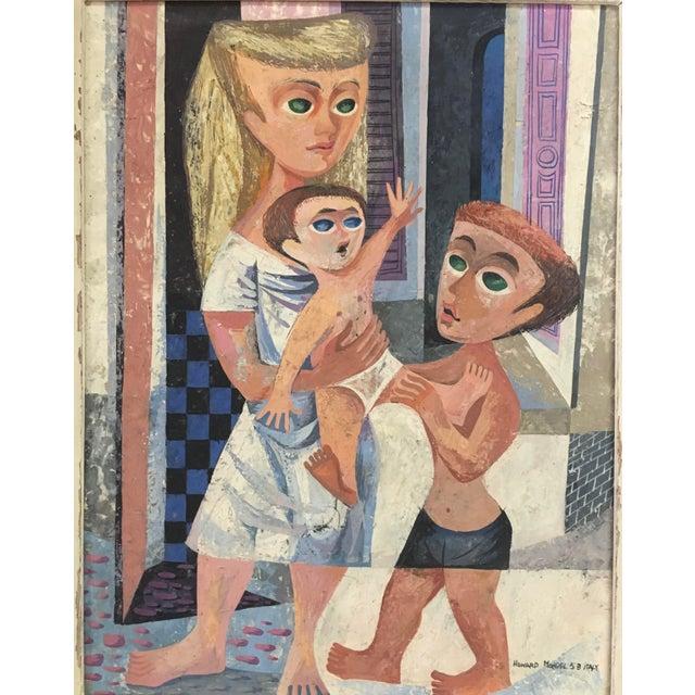 Howard Mandel '53 American Cubism - Image 3 of 7