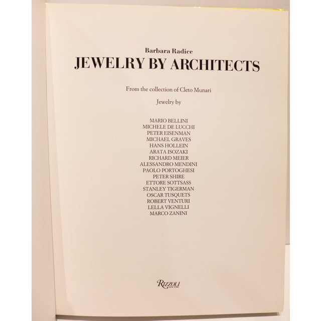 """""""Jewelry by Architects"""" Book - Image 4 of 9"""