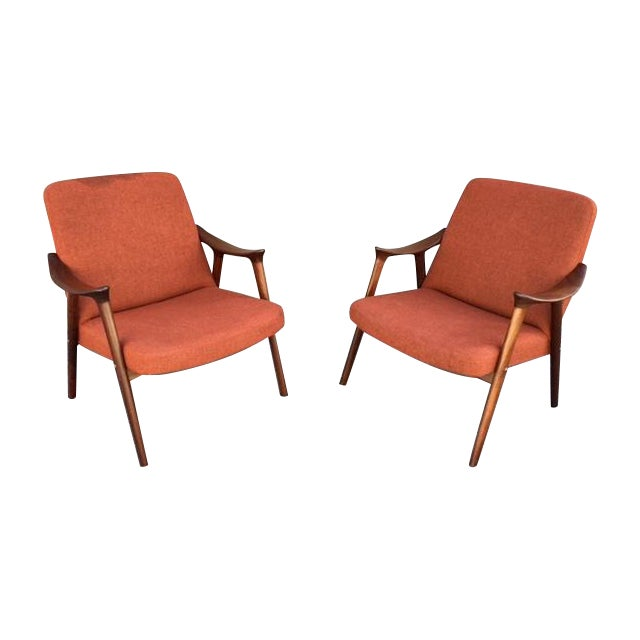 Danish Mid-Century Chairs by Igmar Relling - Pair - Image 1 of 5