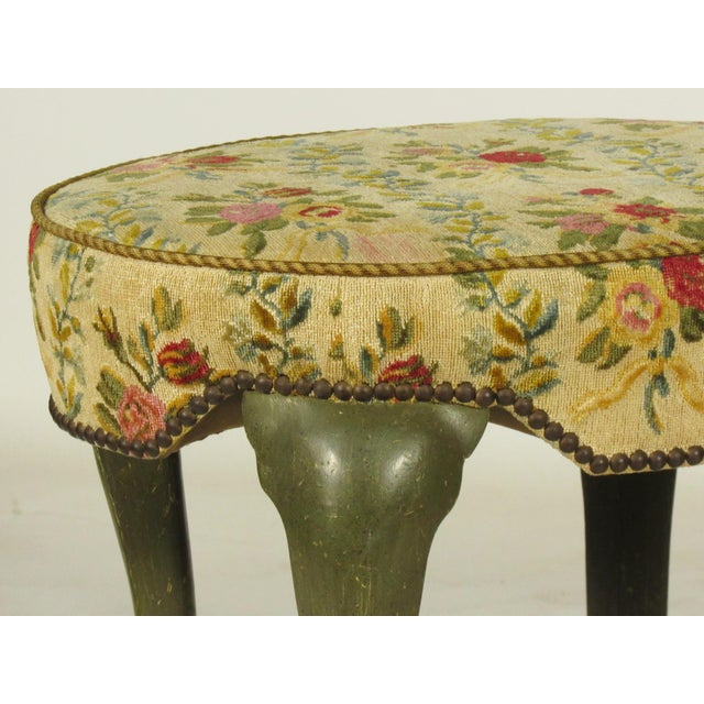 Yale Burge French Painted Stools - a Pair - Image 3 of 8