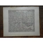 Image of Baltimore Antique Map Lithograph