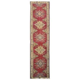 Vintage Persian Tabriz Rug - 2'5''x19'3''