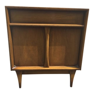 Mid-Century Wood Nightstand