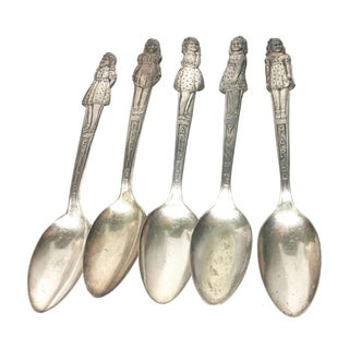 Vintage Dionne Quintuplet Spoons - Set of 5