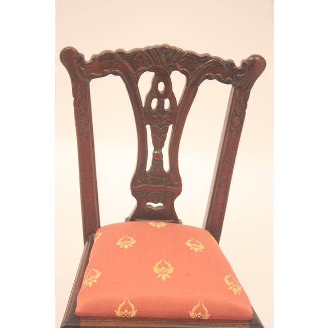 Chippendale-Style Doll Chair - Image 4 of 7