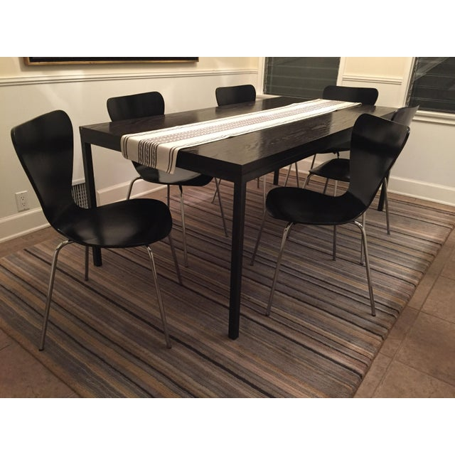 Black Butterfly Dining Chairs - Set of 6 - Image 7 of 9