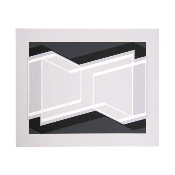 "Josef Albers ""Portfolio 1, Folder 29, Image 1"" Print - Image 1 of 3"