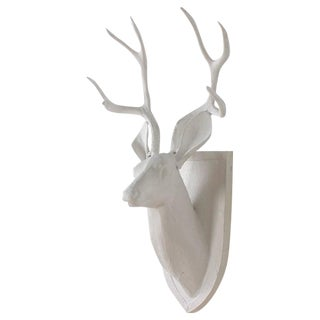 Mid-Century Cast Aluminum Deer Head