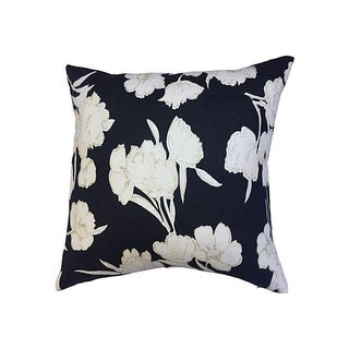 "26"" Ralph Lauren Floral Linen Pillow"
