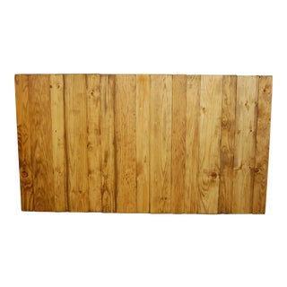 Queen Hanger Barn Walls Headboard in a Golden Oak Stain