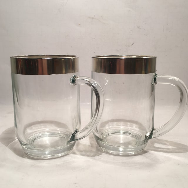 Image of Large Mid Century Modern Dorothy Thorpe Mugs