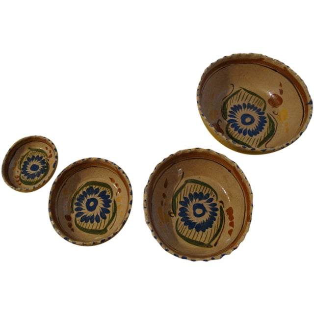Image of Mexican Tlaquepaque Nesting Bowls - Set of Four