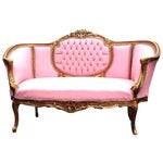 Image of French Louis XVI Pink Sofa