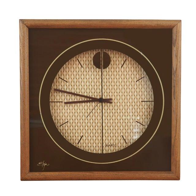 1970s Elgin Wall Clock - Image 1 of 8