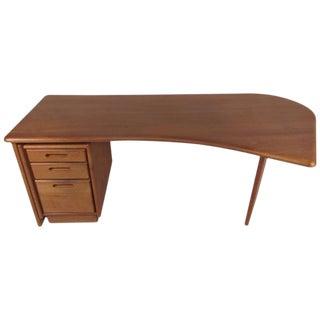 Scandinavian Modern Executive Desk