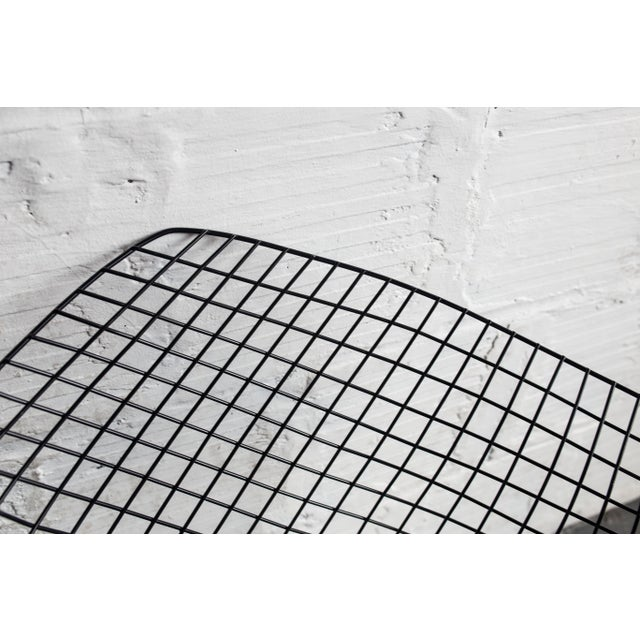 Knoll Bertoia Black Diamond Chairs- Pair - Image 7 of 7