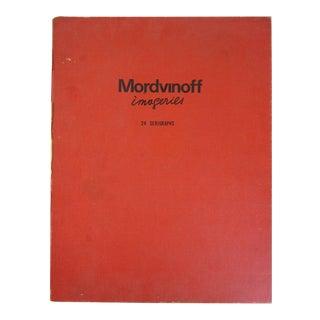 "Nicolas Mordvinoff - ""Imageries"" - Portfolio of 24 Serigraphs"
