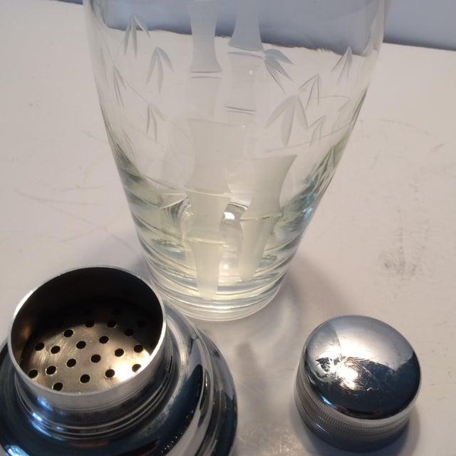 Vintage Noritake Sasaki Crystal Cocktail Shaker - Image 9 of 11