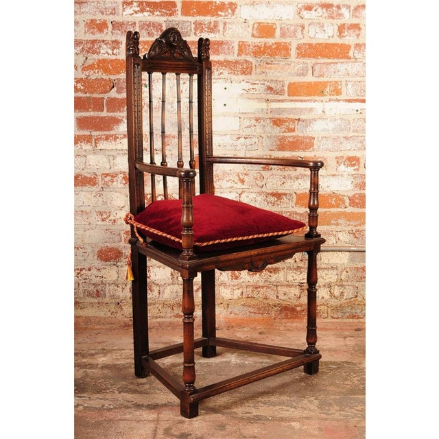 19th Century Reinassance Side Chairs - A Pair - Image 11 of 11