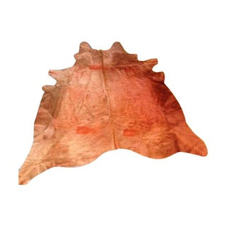 "New Auburn Saddlemans Cowhide Rug - 6' 6"" x 7' 6"""