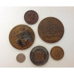 Image of Vintage Medal Medallions & Paperweights - Set of 5