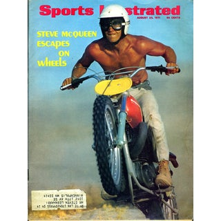 Vintage Steve McQueen Sports Illustrated Magazine Issue