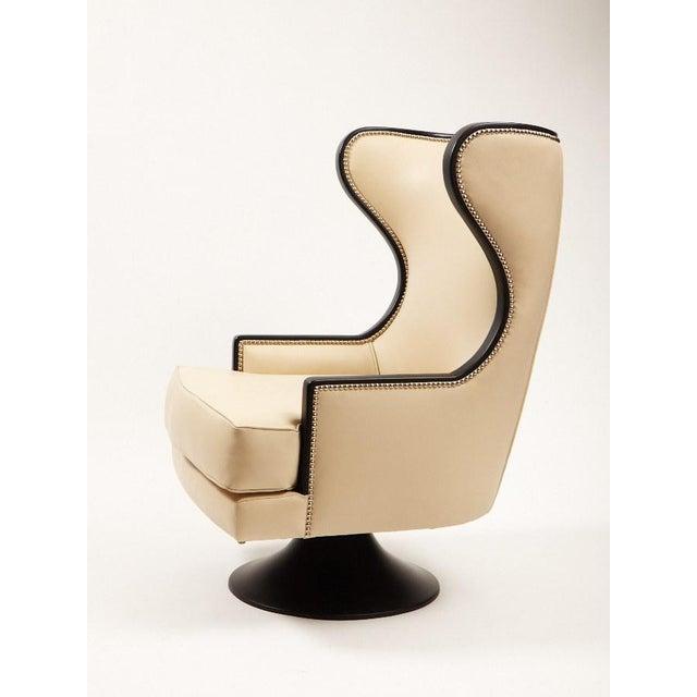 Erin V. Brackpool Wingback Swivel Chair - Image 2 of 6