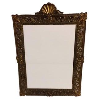 Antique Italian Filigree Mirror