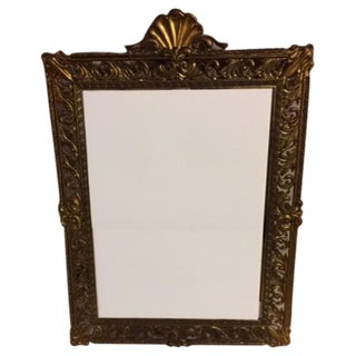 Antique Italian Filigree Mirror
