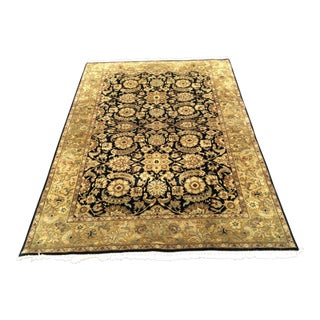 Indian Handmade Area Rug - 6′2″ × 8′6″
